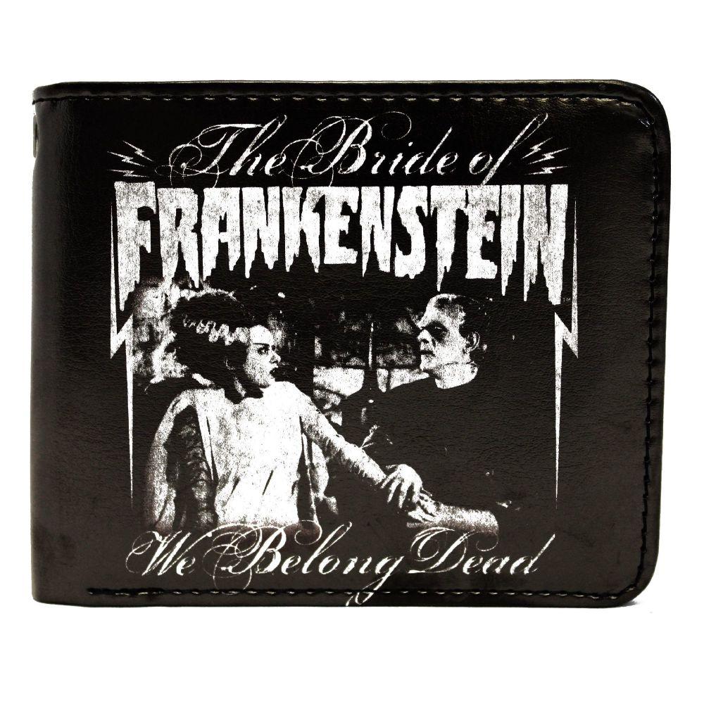 Bride Of Frankenstein We Belong Dead Wallet