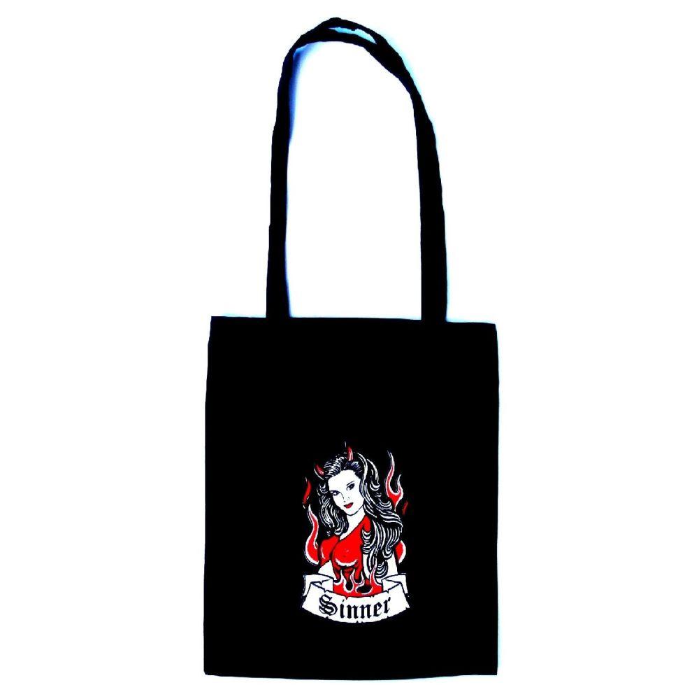 Rock N Roll Suicide Sinner Tote Bag