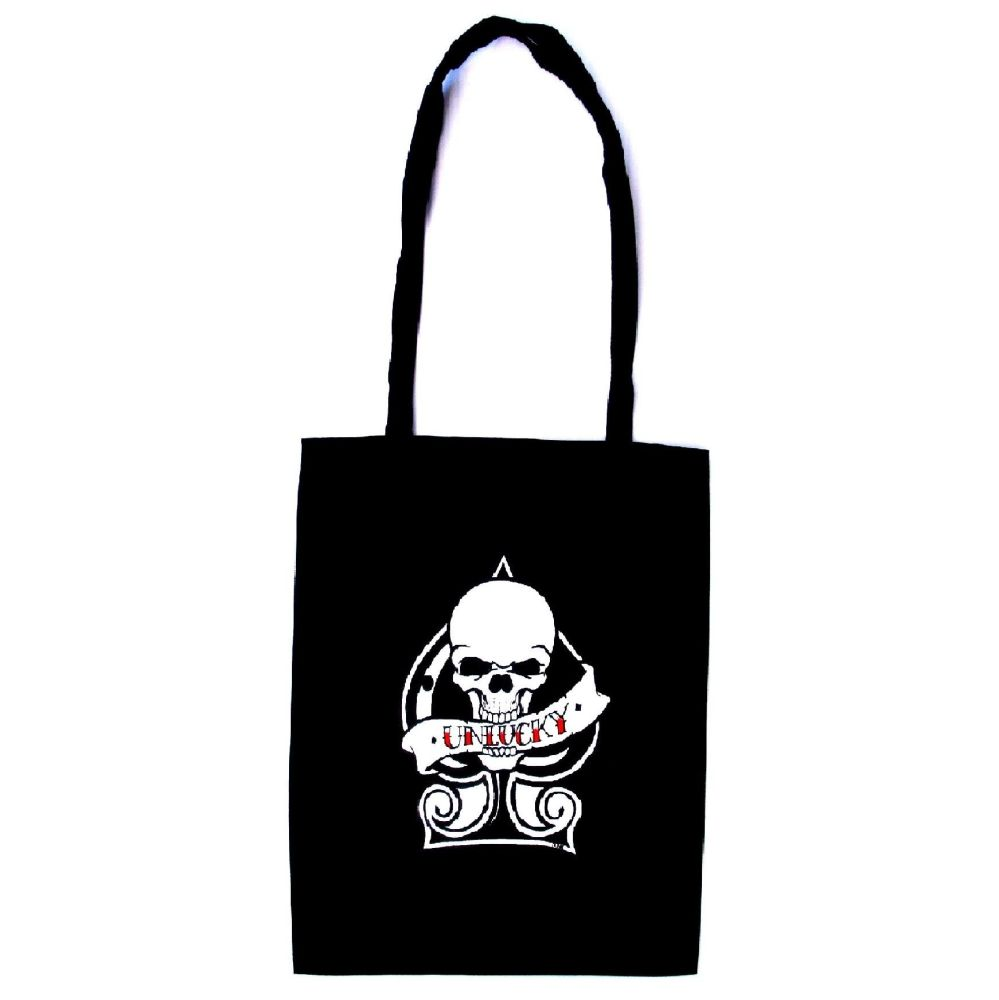 Rock N Roll Suicide Unlucky Tote Bag