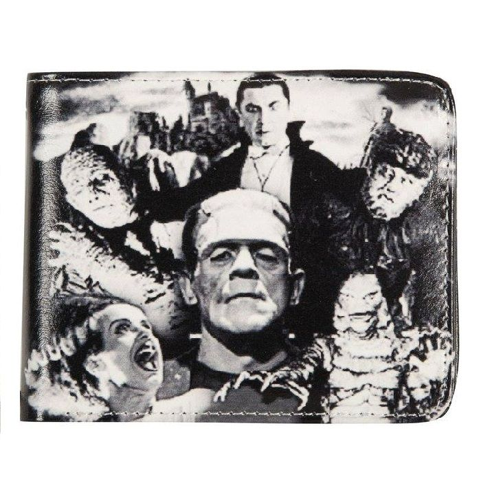 Universal Monsters Collage Wallet