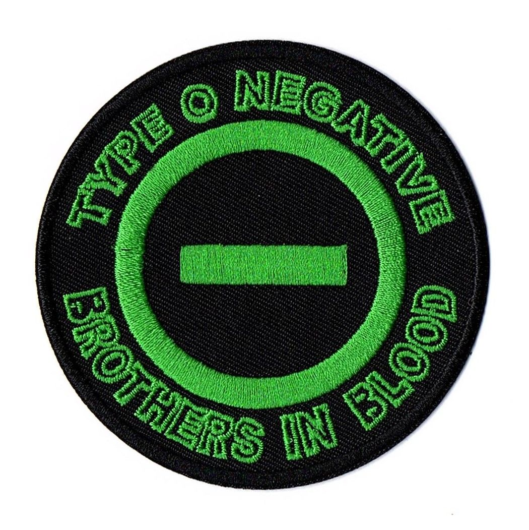 Type O Negative Brothers In Blood Patch