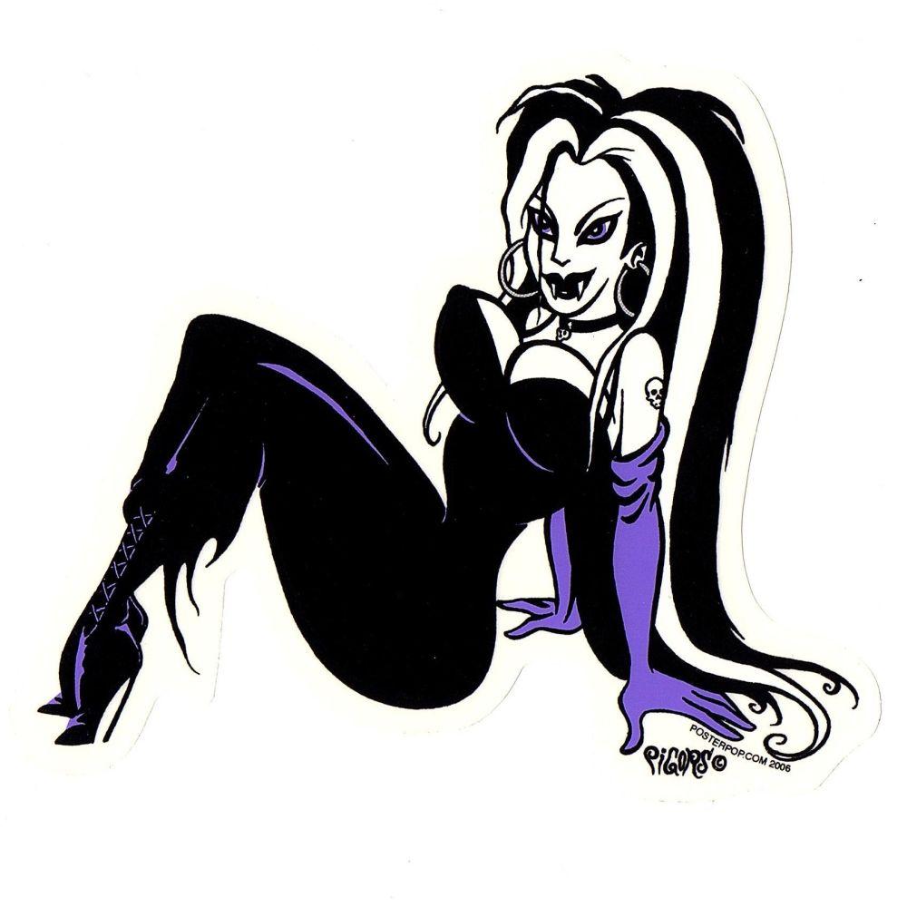 Pigors Wicked Girl Sticker