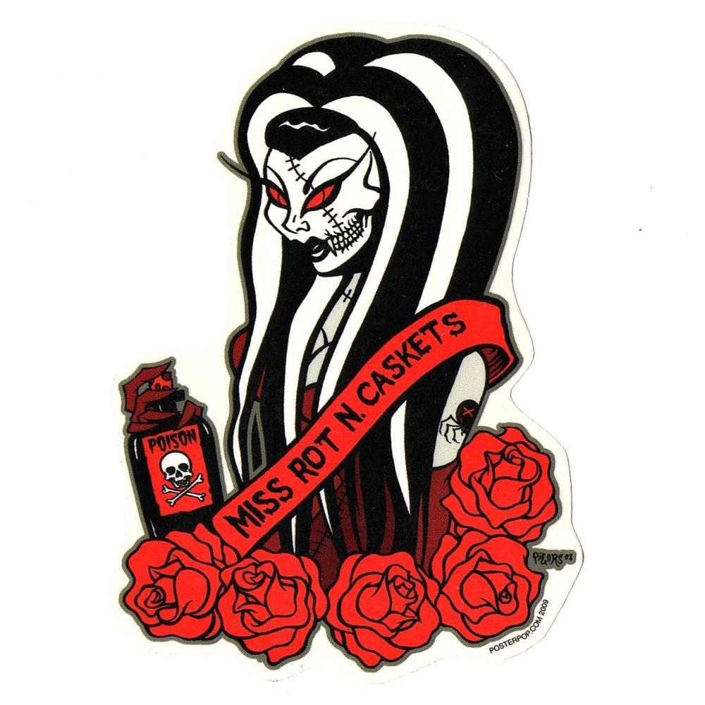 Pigors Beauty Queen Sticker
