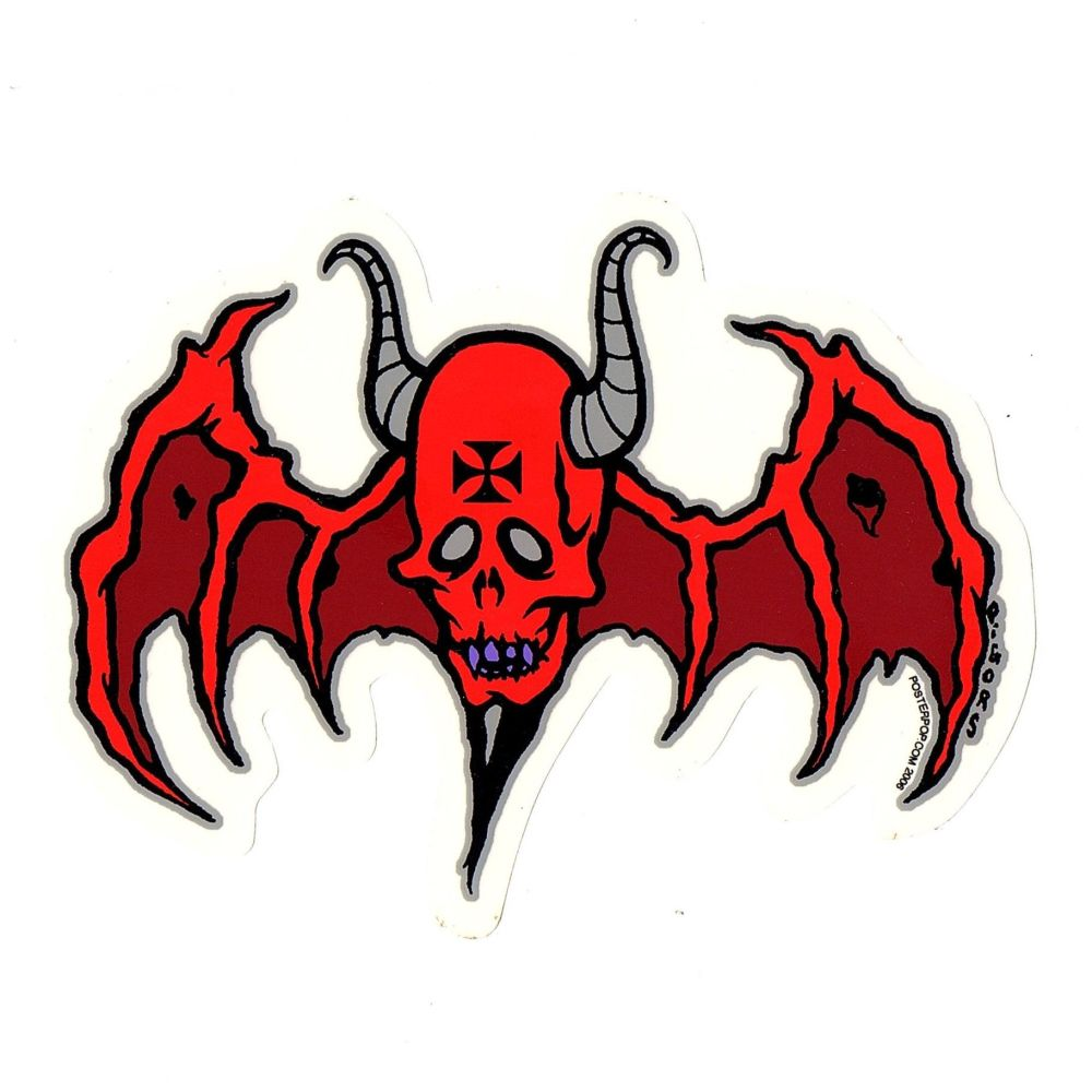Pigors Devil Bat Sticker