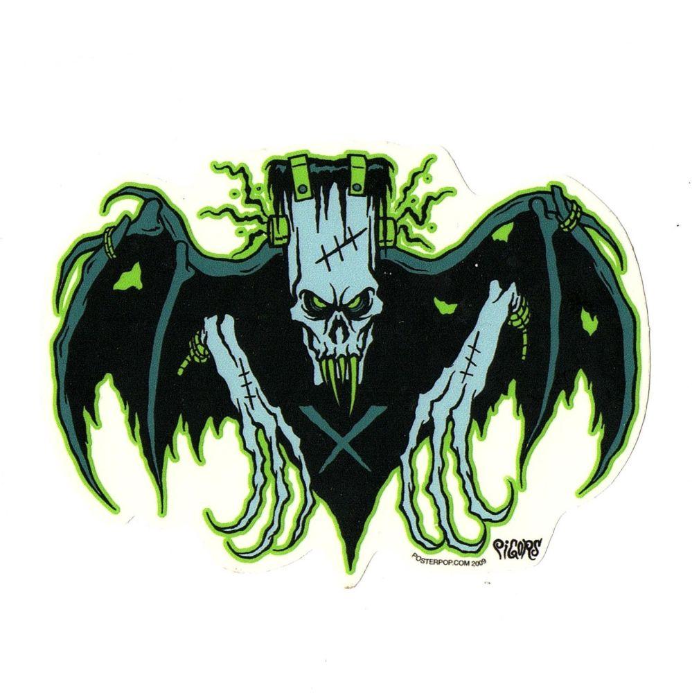 Pigors Frankenclaw Bat Sticker