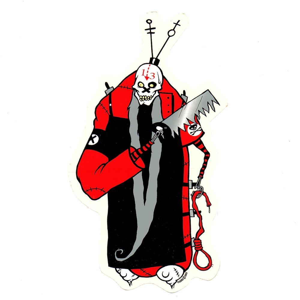 Pigors Doctor Death Sticker