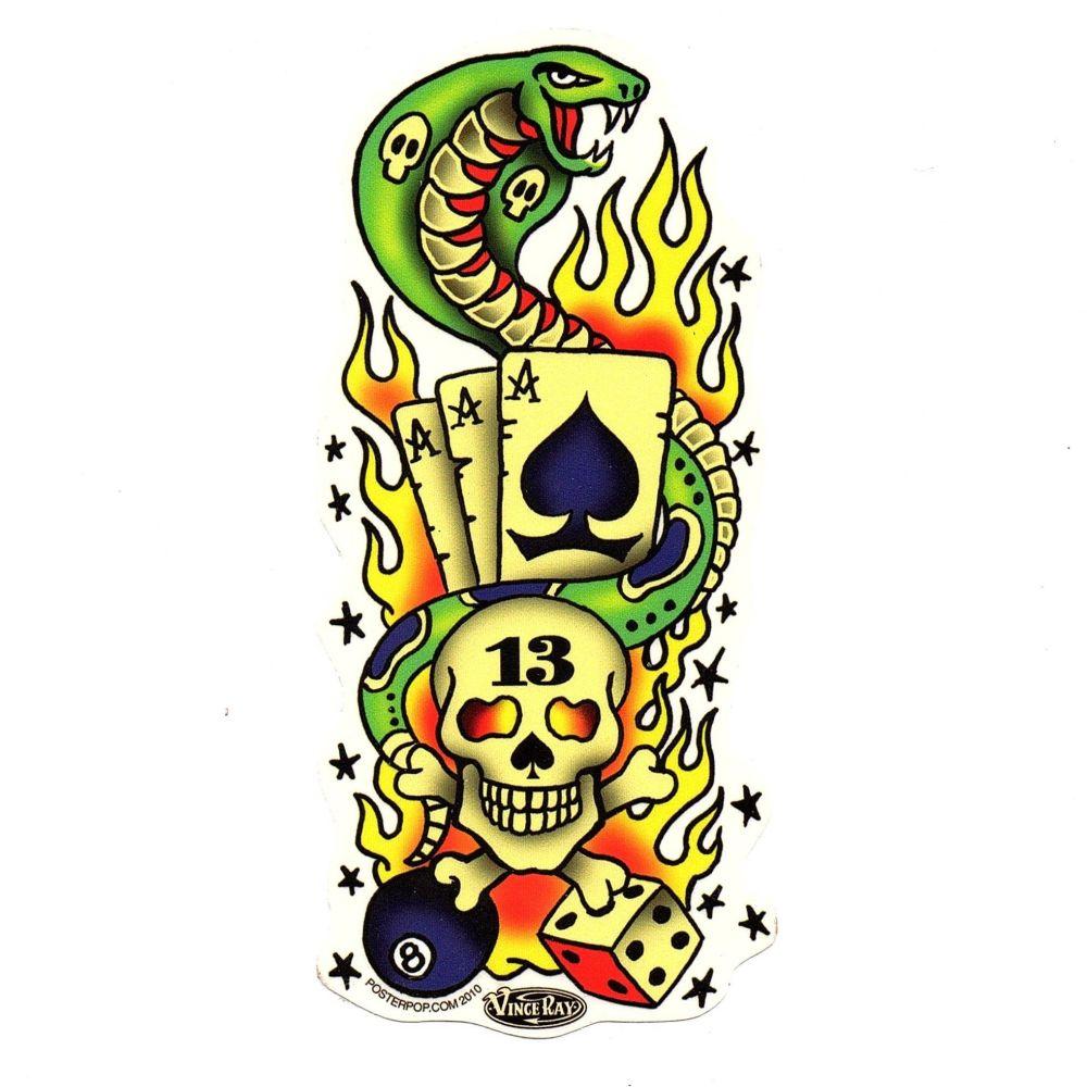 Vince Ray Tattoo 13 Sticker