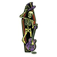 Vince Ray Coffin Sticker