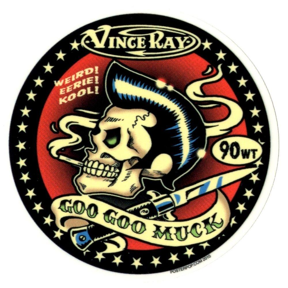Vince Ray Goo Goo Muck Sticker