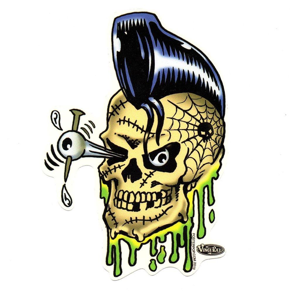 Vince Ray Psycho Bobby Sticker