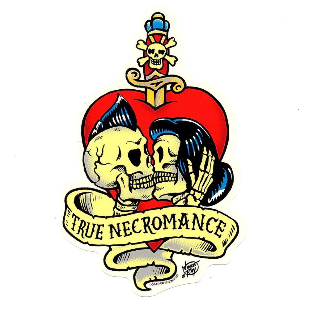 Vince Ray True Necromance Sticker