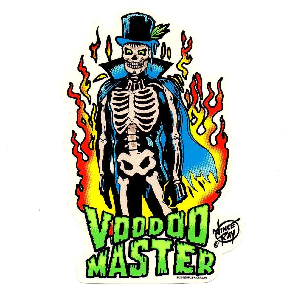 Vince Ray Voodoo Master Sticker