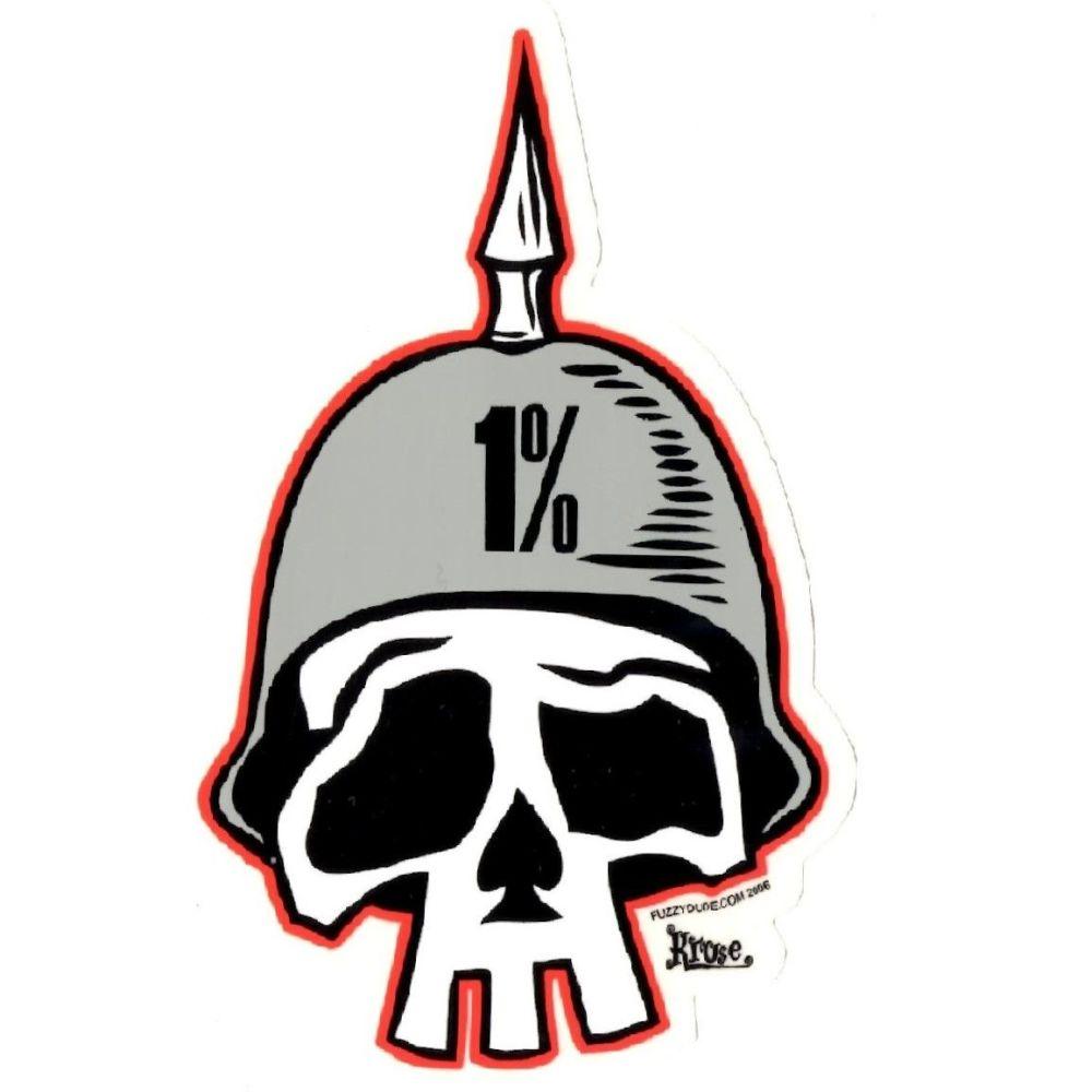 Kruse One Percent Sticker