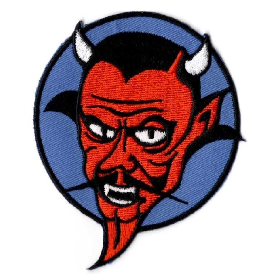 Retro Devil Patch