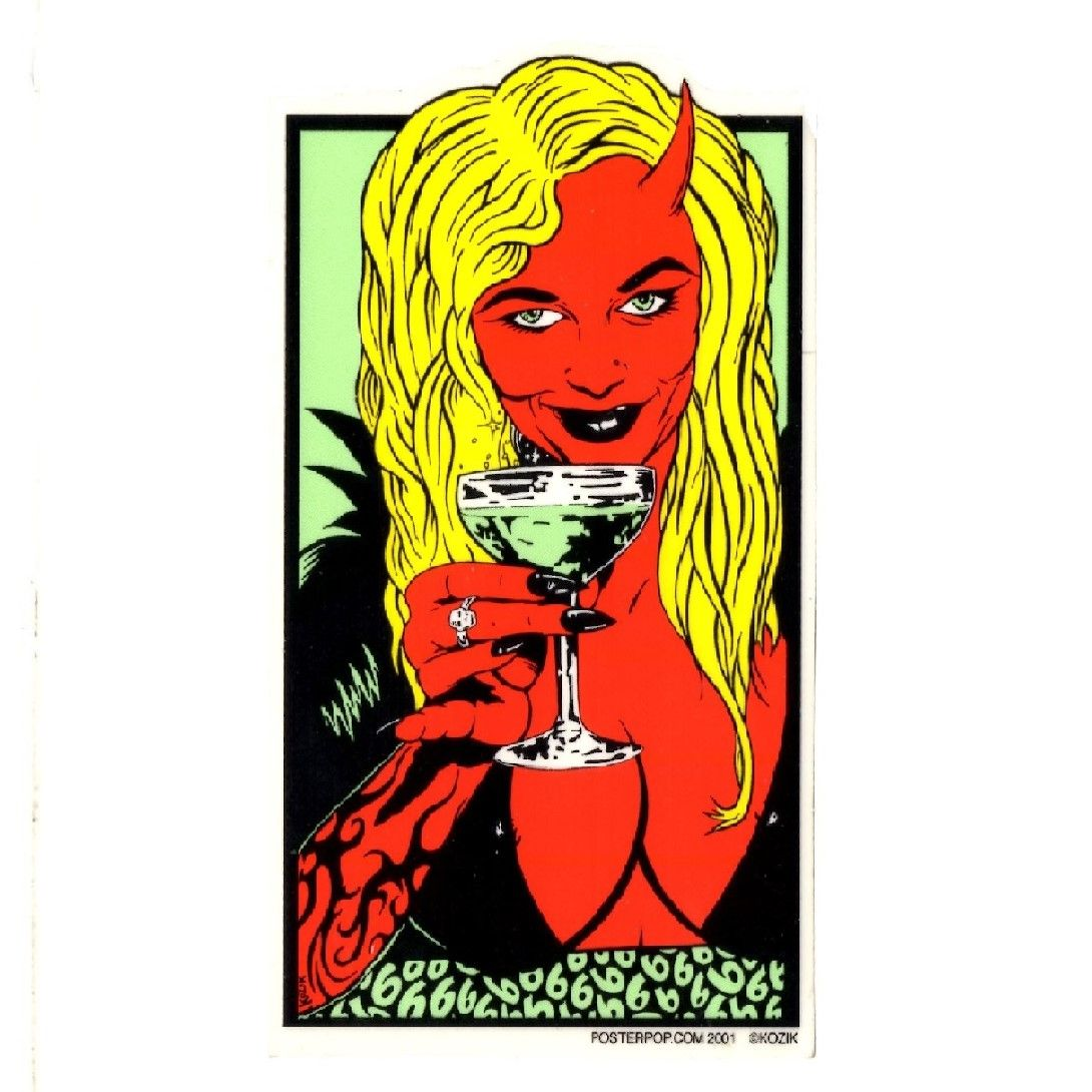 Kozik Cocktail Sticker