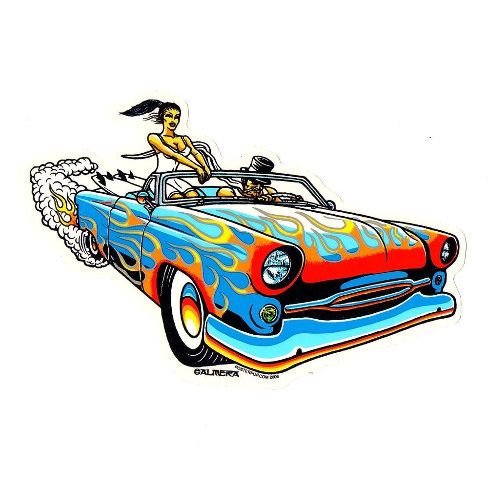 Almera Joy Ride Sticker