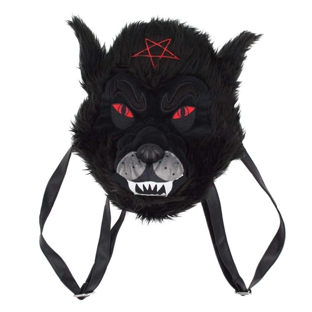 Kreepsville 666 Wolfhead Plush Bag