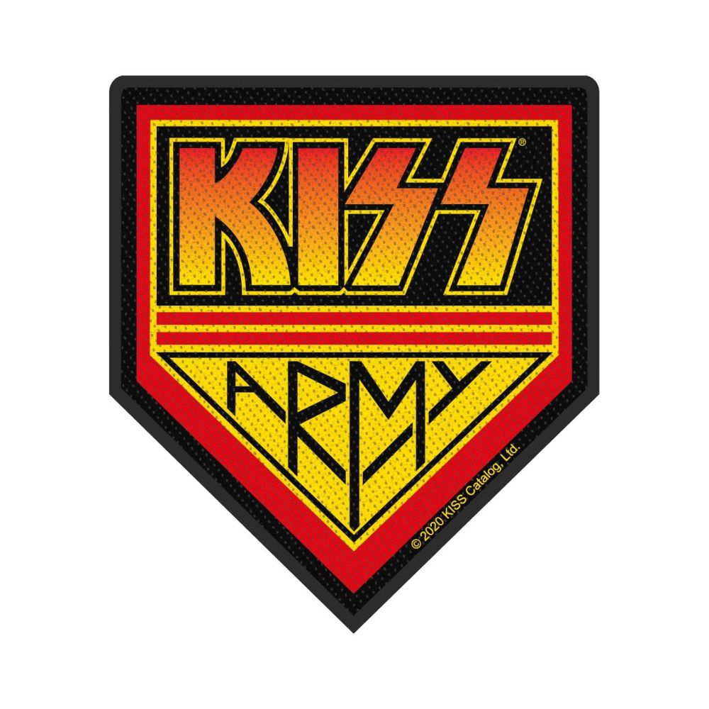 Kiss Kiss Army Patch