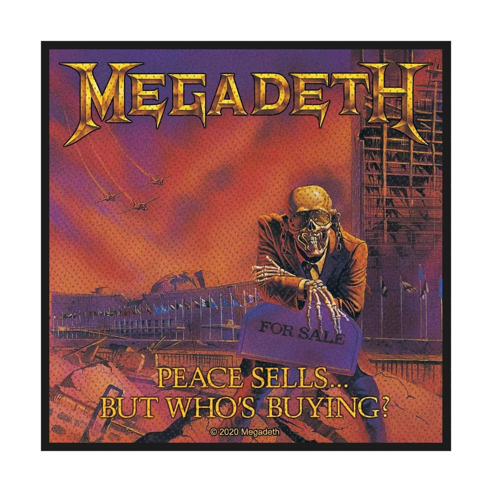 Megadeth Peace Sells But Whos Buying Patch