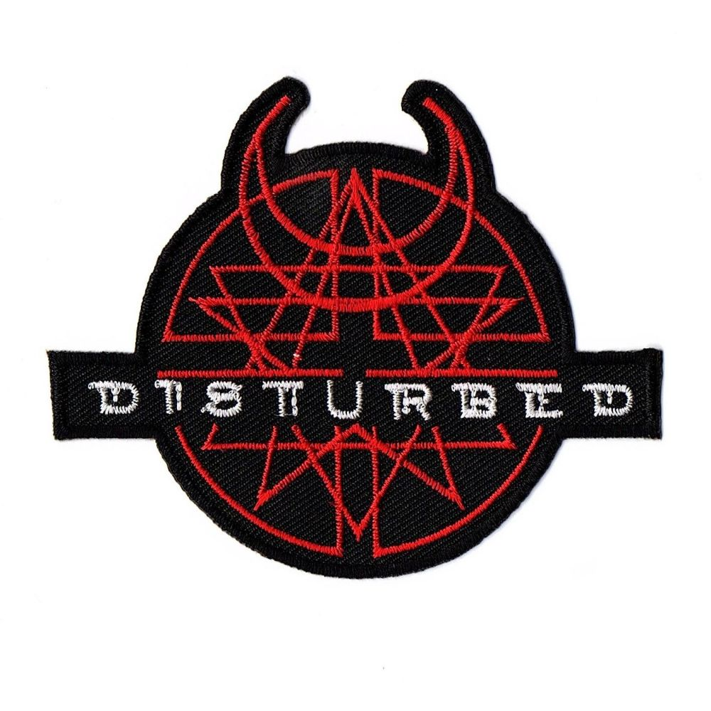 Disturbed Logo Patch