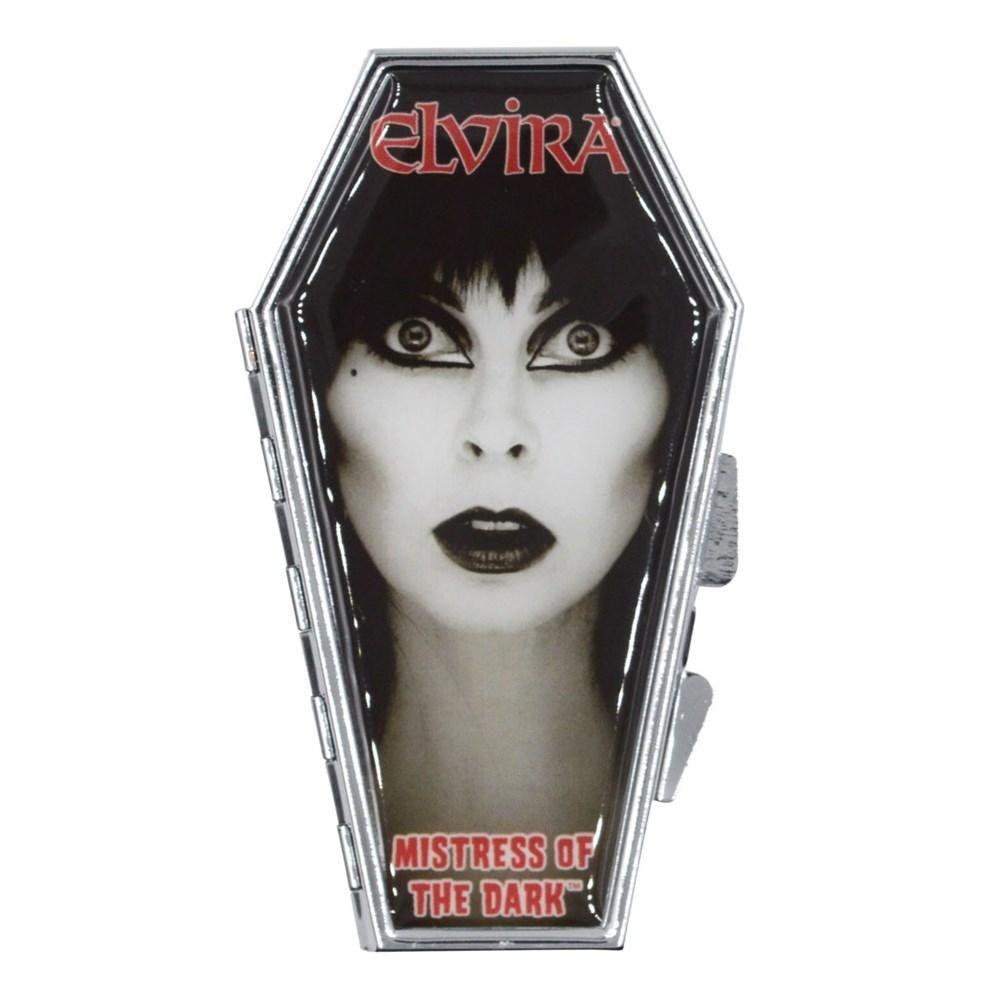 Kreepsville 666 Elvira Face Coffin Compact Mirror