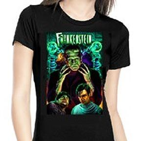 Rock Rebel Dr Frankenstein Tshirt