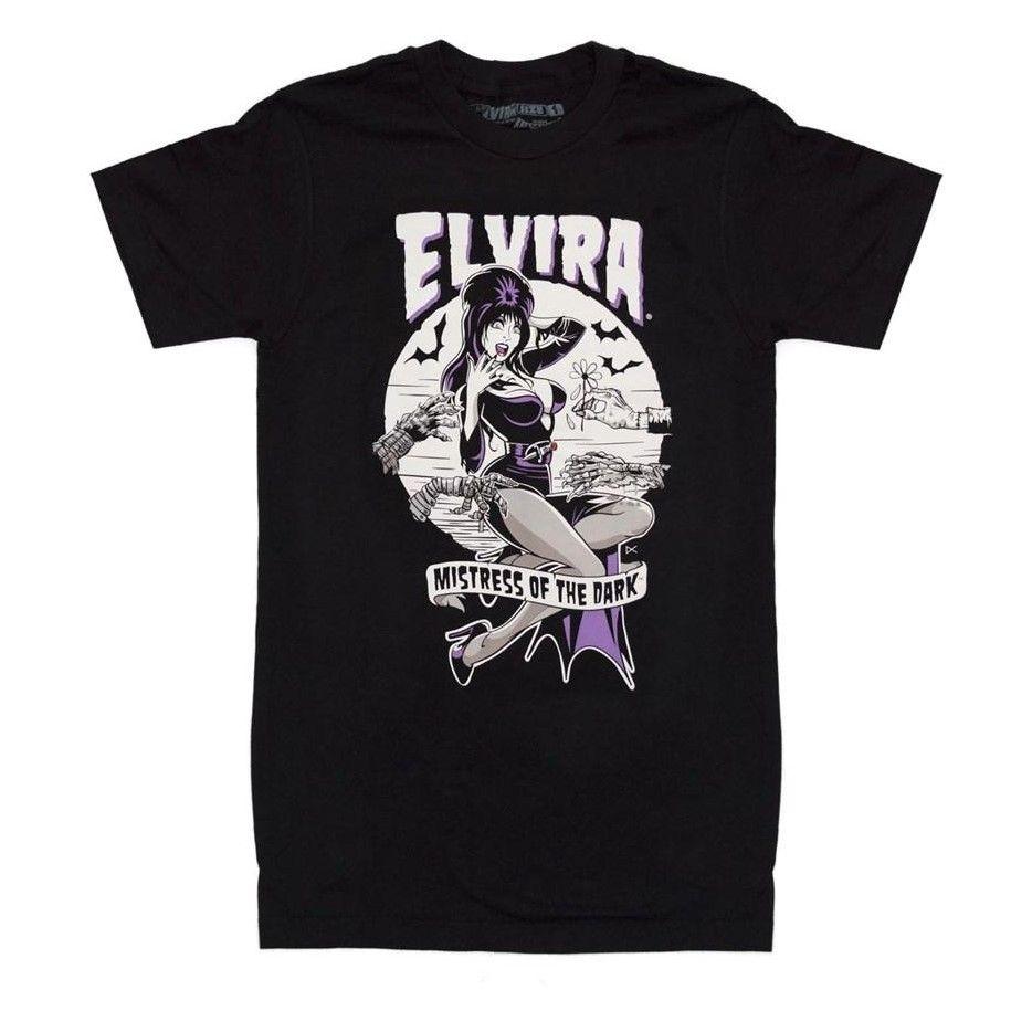 Kreepsville 666 Elvira Monster Hands Tshirt