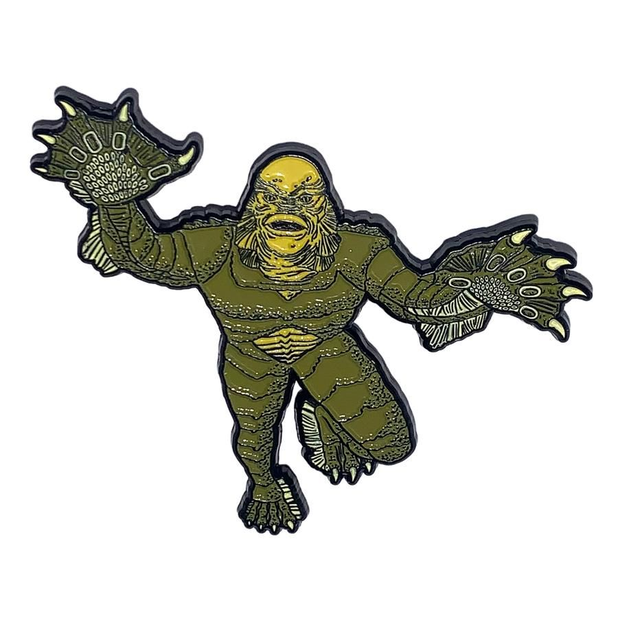 Creature From The Black Lagoon Pouncing Badge