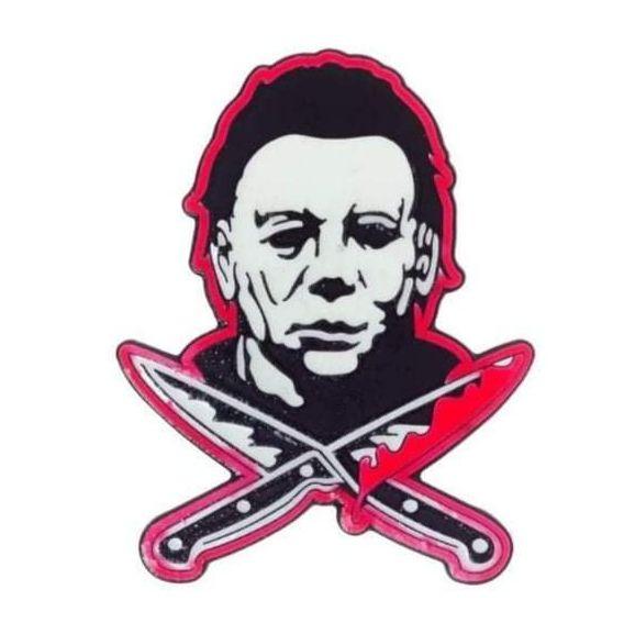 Halloween Michael Myers Badge