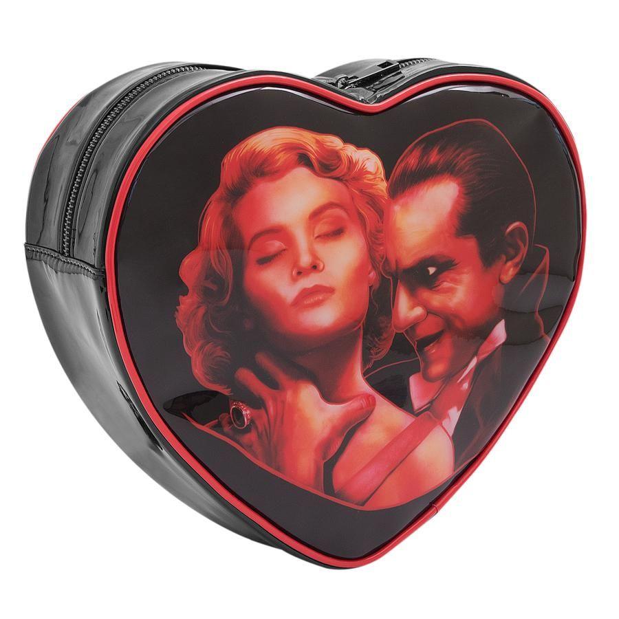 Dracula Choke Heart Shaped Back Pack