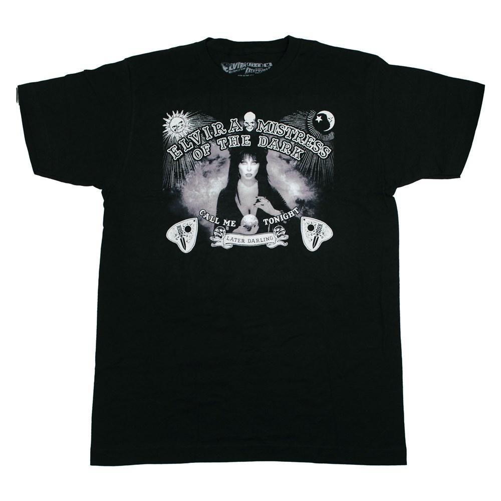 Kreepsville 666 Elvira Spirit Board Tshirt