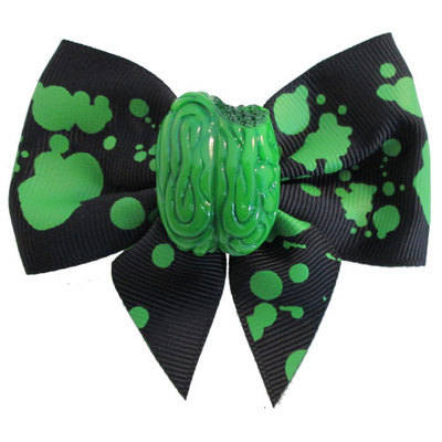 Kreepsville 666 Zombie Brain Hair Bow