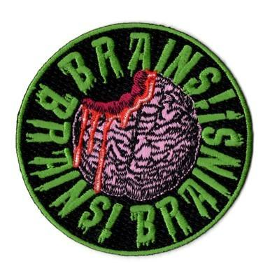 Kreepsville 666 Brains Brains Brains Patch