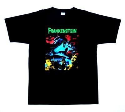 The Curse Of Frankenstein Tshirt MEDIUM