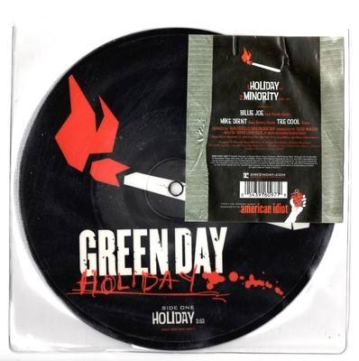 """Green Day Holiday 7"""" Picture Disc"""