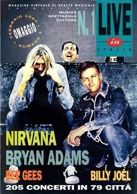 Live In Italia Magazine February 1994