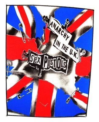 Sex Pistols Anarchy In The UK Back Patch