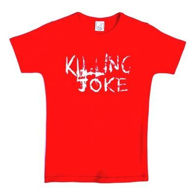 Killing Joke The Wait Red Lady Fit Tshirt Large To Extra Large