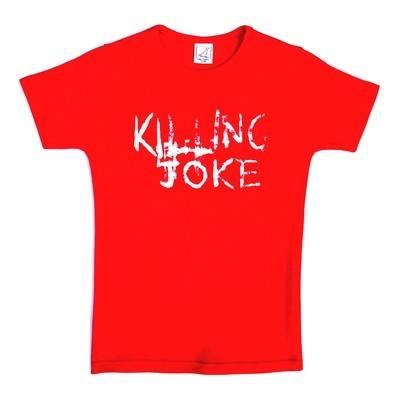 Killing Joke The Wait Red Lady Fit Tshirt Small To Medium