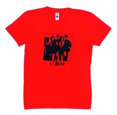 45 Grave Red Lady Fit Tshirt Large