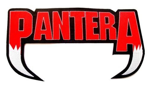 Pantera Logo XL Patch