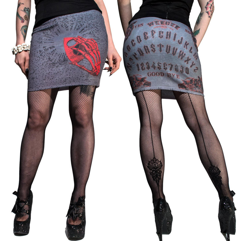 Kreespville 666 Weegee Board Mini Skirt