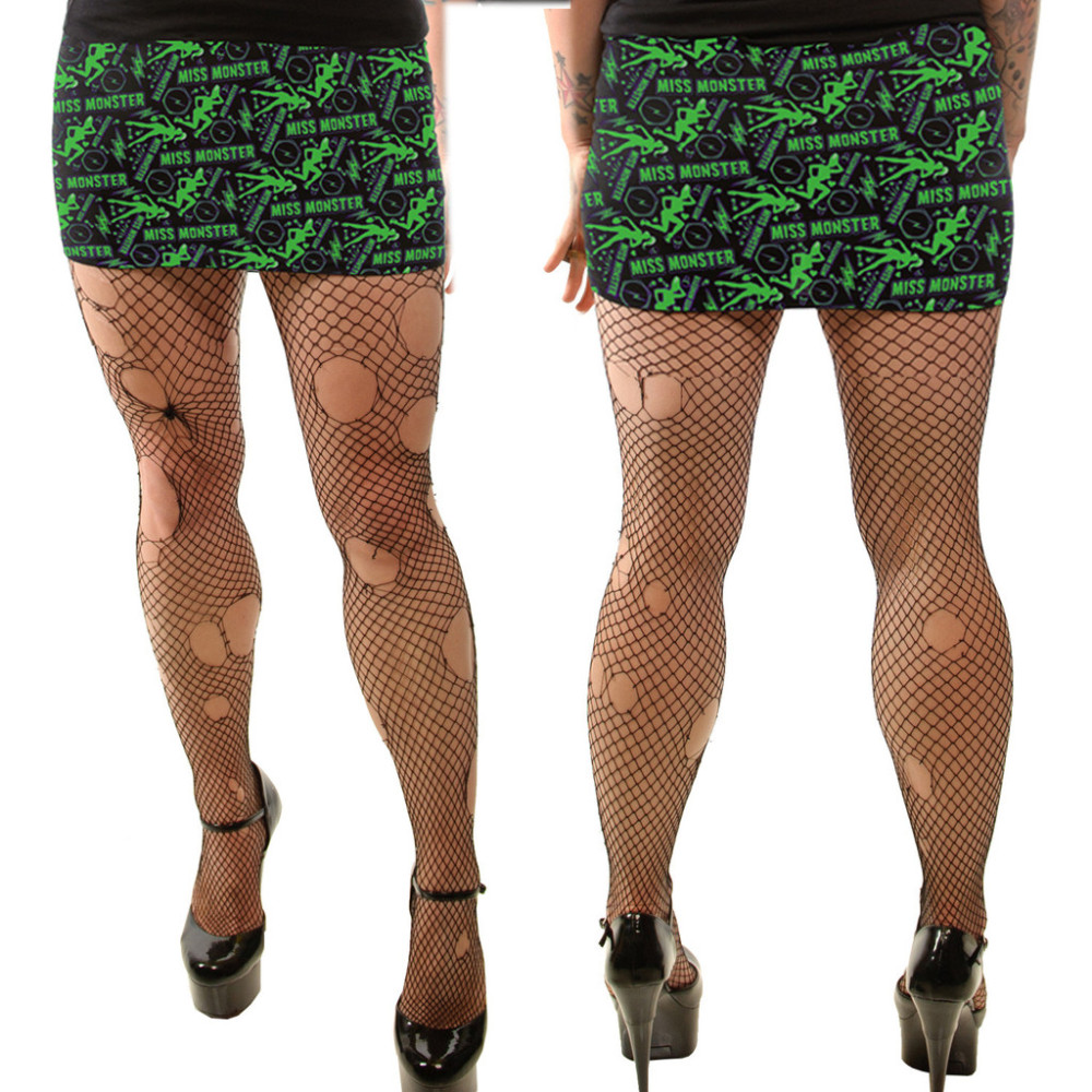 Kreepsville 666 Miss Monster Mini Skirt Small