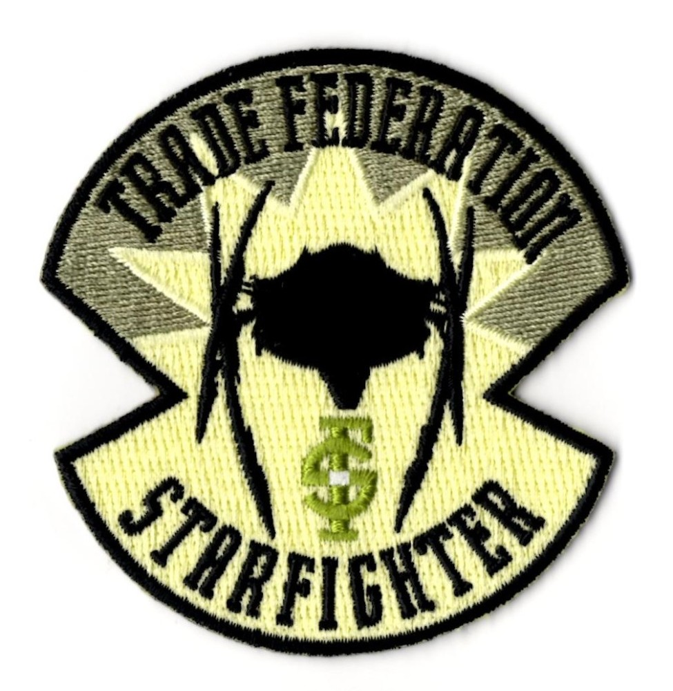 Star Wars Trader Federation Starfighter Patch