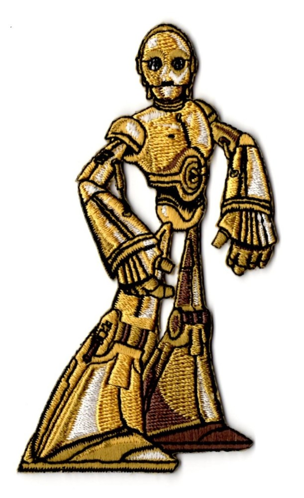 Star Wars C3PO Patch