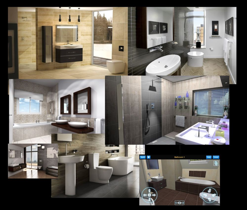 Flush Fitting Ltd Photo Realistic Bathroom Design 4D Virtual presentations