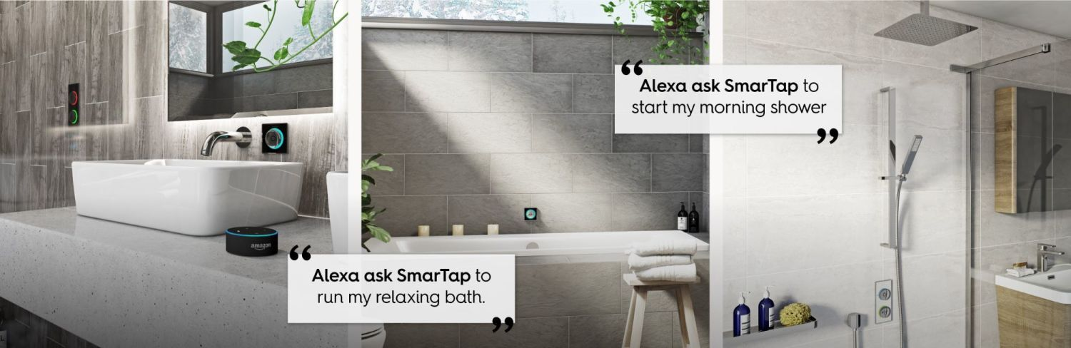 Smart bathroom examples