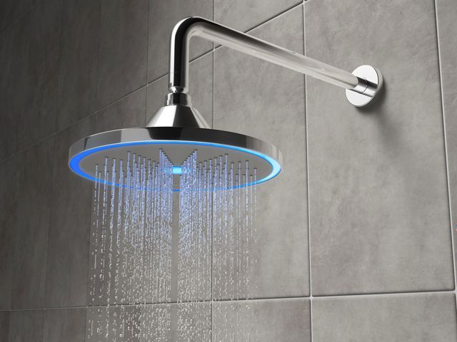 Smart bathroom shower head