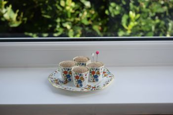 eggcup pincushions