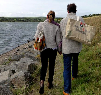 bags visiting cornwall after trip to sicily